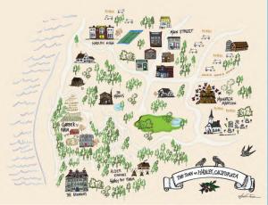 Map of Hadley, California